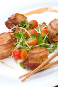 Scallops Wrapped in Pancetta